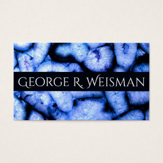 Blue Agates Business Card