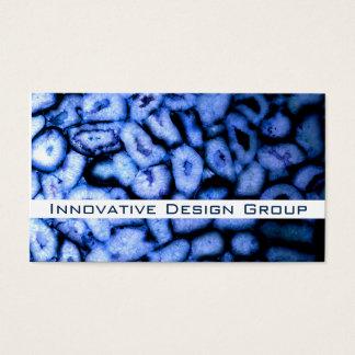 Blue Agates business cards