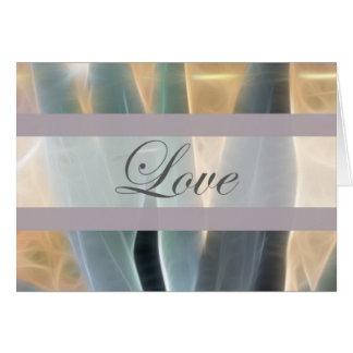 Blue Agave 1 Glow Love Wedding Card