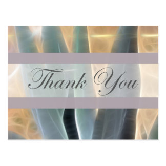Blue Agave 1 Glow Thank You Postcard