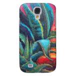 Blue Agave Cacti Sunrise by Sharles Samsung Galaxy S4 Case