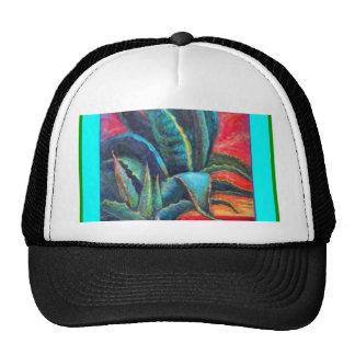 Blue Agave Cacti Sunrise by Sharles Trucker Hat