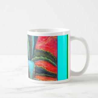 Blue Agave Cacti Sunrise by Sharles Coffee Mug