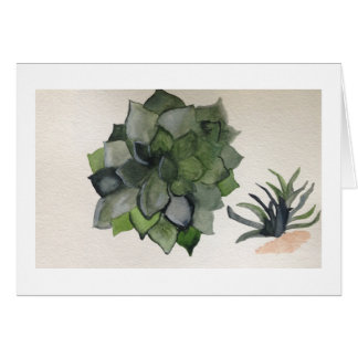 Blue Agave Stationery Note Card