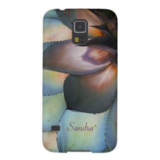 Blue Agave Succulent Galaxy Nexus Case