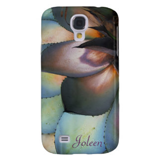 Blue Agave Succulent Galaxy S4 Case *personalize*