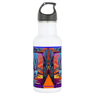 Blue Agave Surrealism by Sharles Water Bottle
