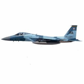 Blue Aggressor F-15 Eagle Statuette