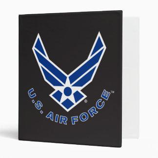 Blue Air Force Logo & Name Binder