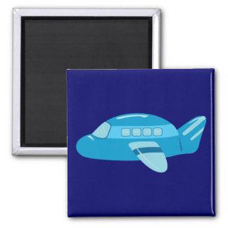 Blue Airplane Magnet