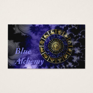 Blue Alchemy Astrology Business Card