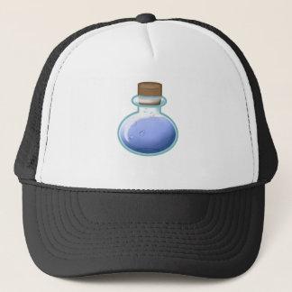 Blue Alchemy Bottle Trucker Hat