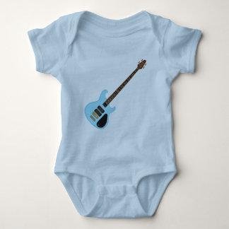 Blue Alembic Bass Guitar Baby Bodysuit