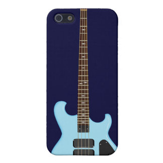 Blue Alembic Bass Guitar Case For iPhone SE/5/5s
