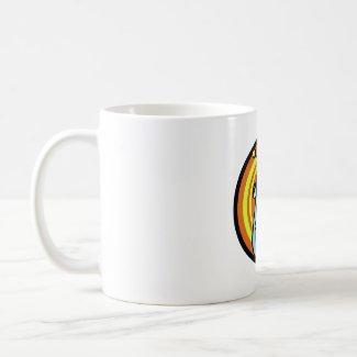 Blue Alien Head mug
