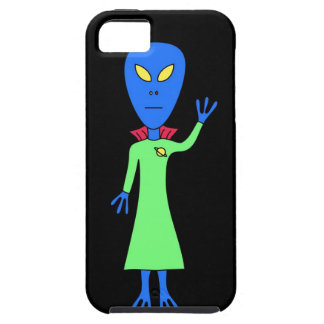Blue Alien iPhone Case