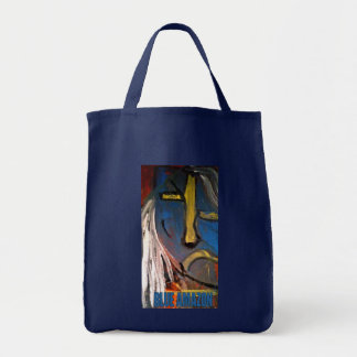 BLUE AMAZON TOTE BAG