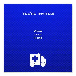 Blue Ambulance Invites