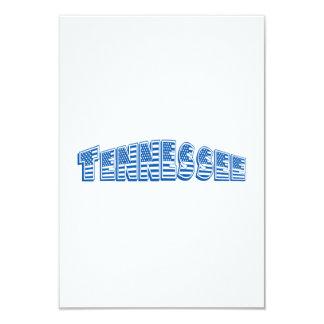 Blue American Flag Tennessee Invite
