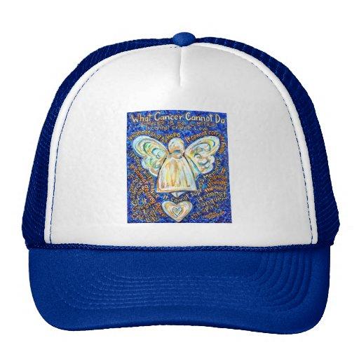 Blue & Gold Cancer Angel - Large Hats