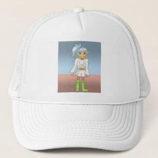 Blue, an Anime Art Gallery Character Trucker Hat