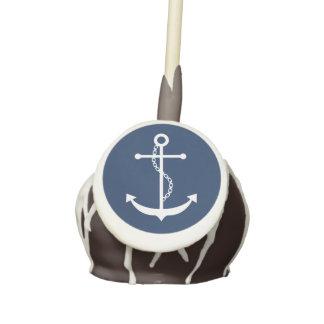 Blue Anchor Cake Pops
