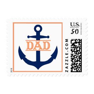 Blue Anchor Dad Postage
