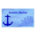 Blue Anchor Design Marina Business Cards