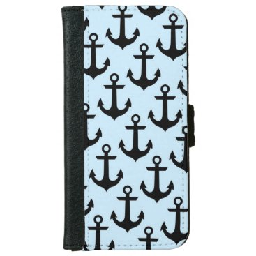Blue Anchor iPhone 6/6s Wallet Case