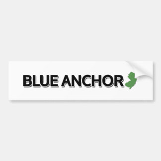Blue Anchor, New Jersey Bumper Sticker