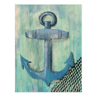 Blue Anchor Postcard