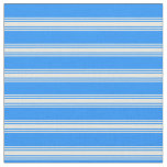 [ Thumbnail: Blue and Beige Pattern Fabric ]
