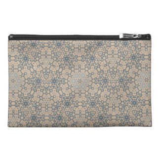 Blue and Beige Tapestry Look Bag