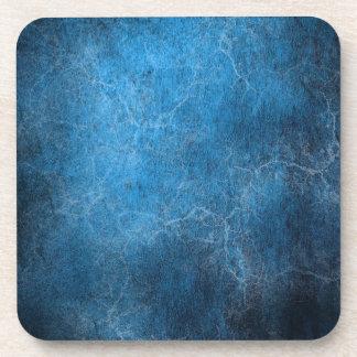 Blue And Black background Beverage Coaster