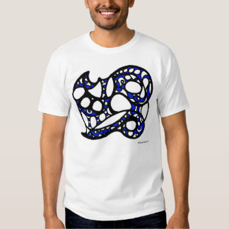 Blue and black design 006 T-Shirt