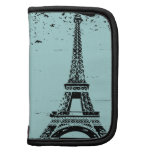 Blue and Black Eiffel Tower Custom Planner