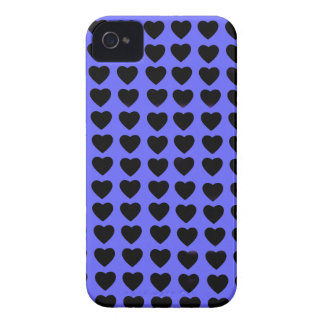 Blue and Black Hearts BlackBerry Bold Case-Mate