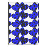 Blue And Black Hearts Kindle Four Folio Case Kindle Touch Case