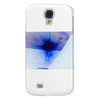 blue and black ink spot samsung galaxy s4 cover