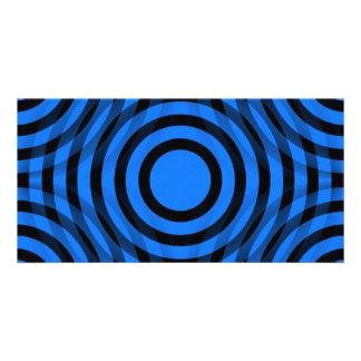blue_and_black_interlocking_concentric_circles tarjeta personal