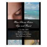 Blue and Black Luxury Spa Resort Theme Posters