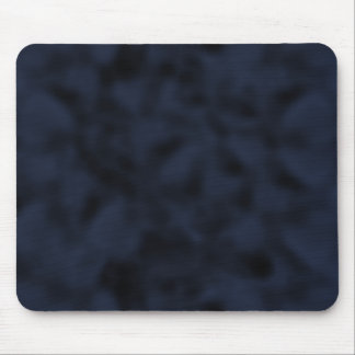 Blue and Black Mottled Mouse Pad