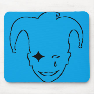 Blue  And Black MTJ Mouse Pad