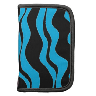Blue and Black Zebra Stripe Organizer