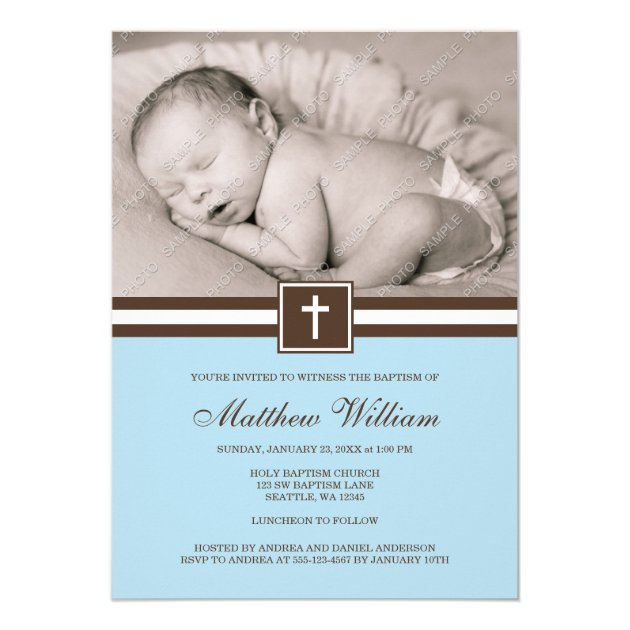 Custom Baby dedication Invites Templates Babyfavors4u