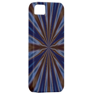 Blue and Brown Liquid Energy Candy Wrapper iPhone 5 Case