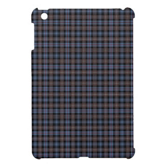 Blue and Brown Mackenzie Clan Reproduction Tartan iPad Mini Cover