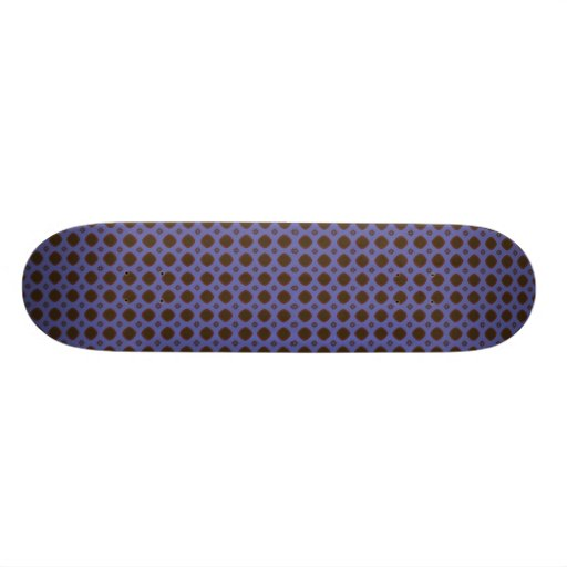 blue and brown skate board