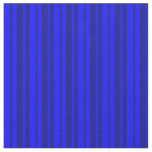[ Thumbnail: Blue and Dark Blue Lined/Striped Pattern Fabric ]