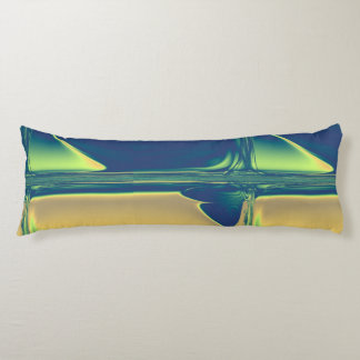 Blue and Gold Crossings Body Pillow